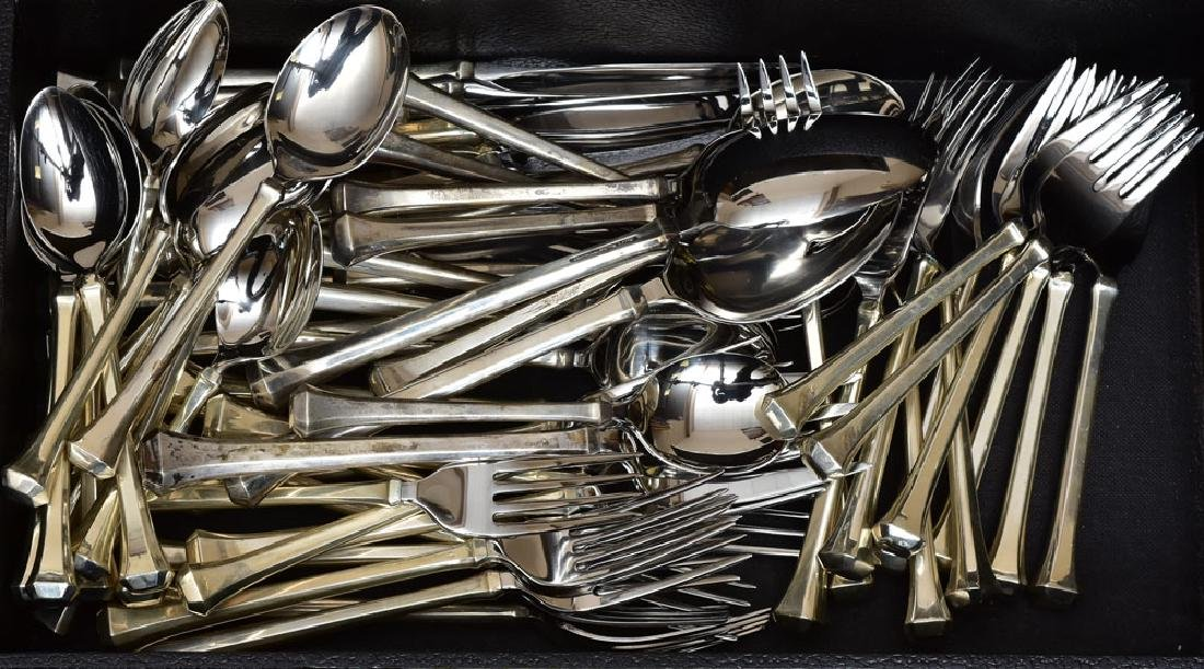 Reed & Barton Sterling and Stainless Flatware Set