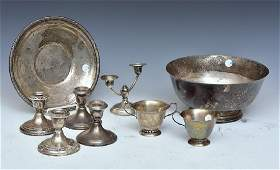 Group Sterling Silver Hollowware