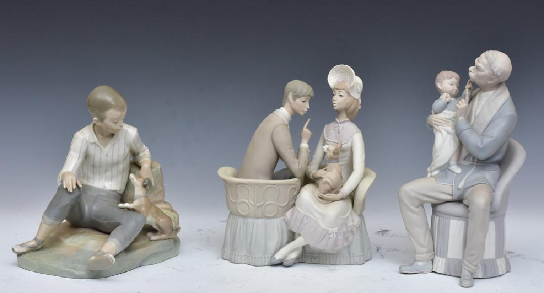 Group of Three Lladro Figurines