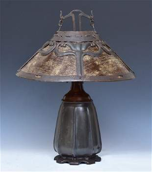 Handel Arts & Crafts Table Lamp