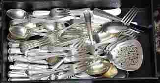 Gorham Partial Sterling Silver Flatware Set