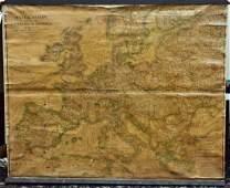 World War I Strategic War Map