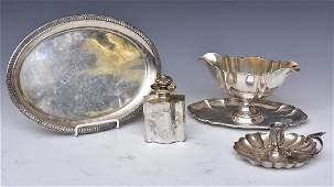 Group of 800 Silver Hollowware