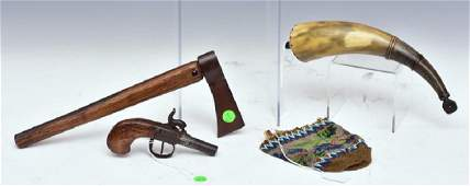 Group of Western Artifacts