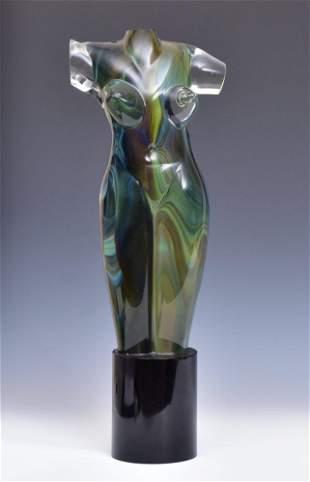 Italian Art Glass Torso