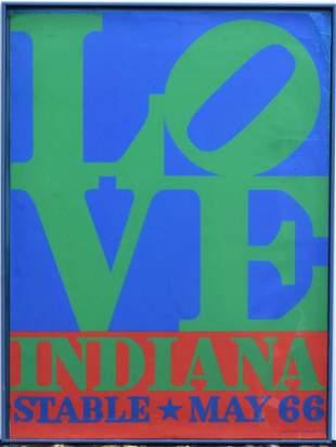 Robert Indiana Poster