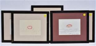 Save The Children Autographed Lipograms 5