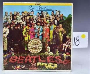 Paul McCartney Signed Beatles Album