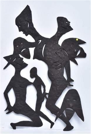 Gabriel Bien-Aime Metal Sculpture