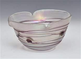 Austrian Art Glass Bowl