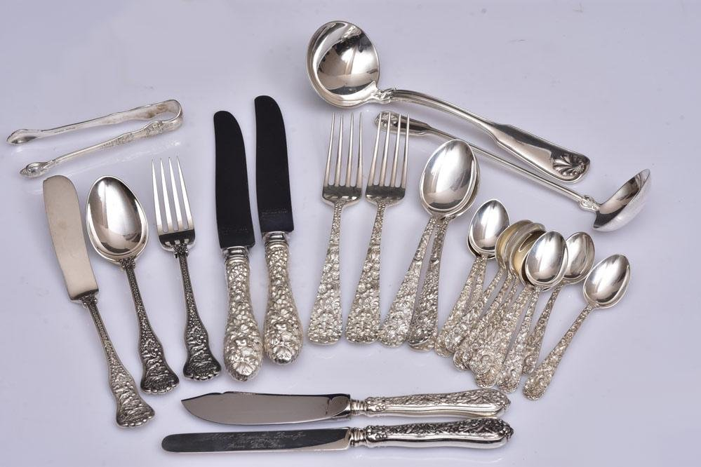 Tiffany & Co. and Steiff Sterling Silver Flatware