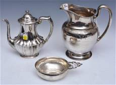 Three Pieces Sterling Silver Hollowware