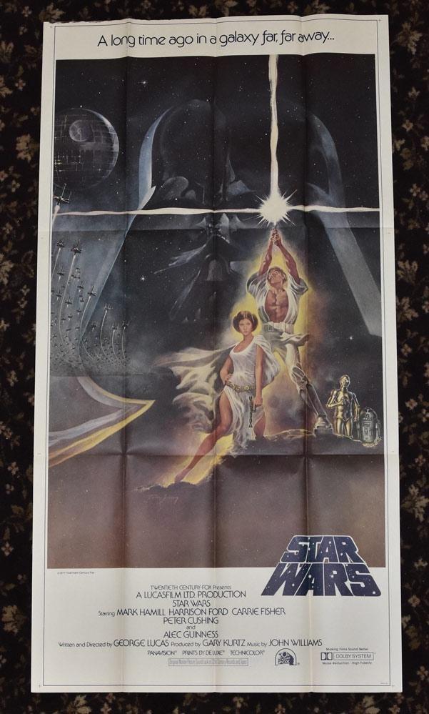 Three Sheet Star Wars Movie Poster