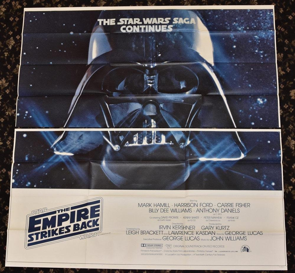 Six Sheet Empire Strikes Back Movie Poster