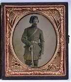 Civil War Tintype Photograph