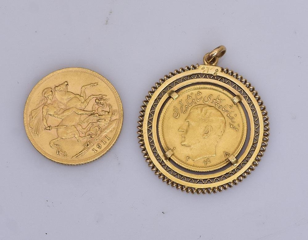Two Gold Coins