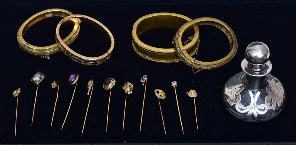 Group of Victorian Stick Pins