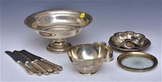 Group of Sterling Silver Hollowware