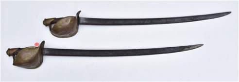 Pair of Civil War Naval Swords