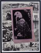 Signed Rauschenberg Earth Day Poster