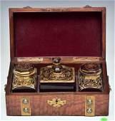 Victorian Boxed Vanity Set