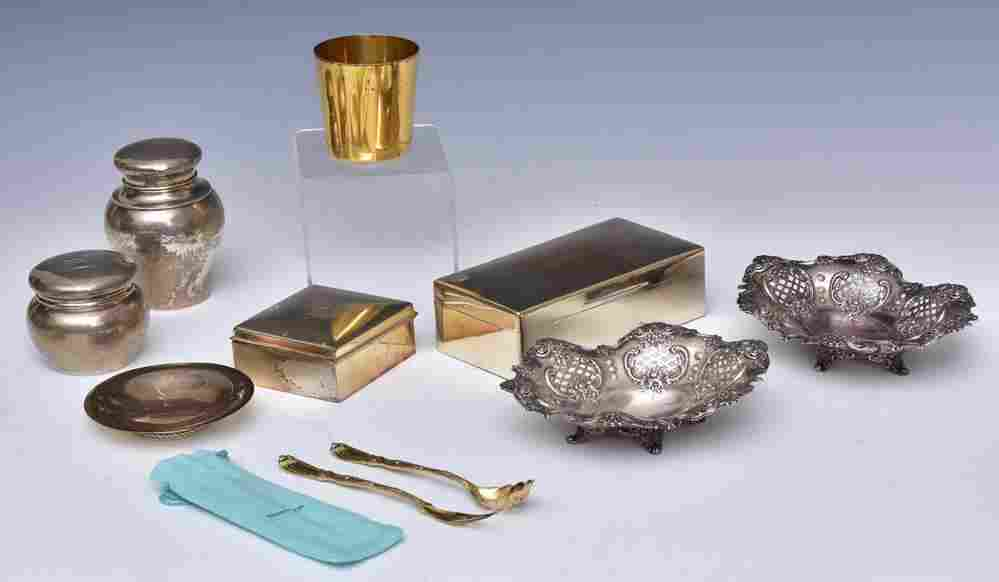 Sterling Silver Hollowware Group