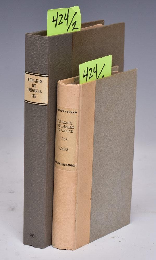 Group of Two Antique Books