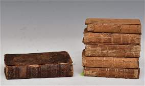 Group of Six Antique Books
