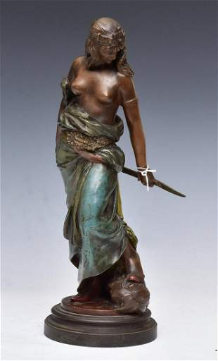 Victorian Cold Painted Bronze