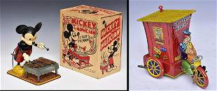 Marx Mickey Mouse Wind-Up Toy