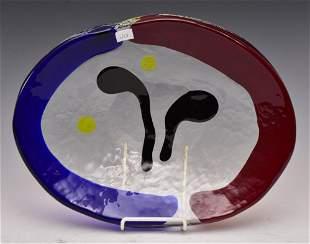 Murano Art Glass Platter