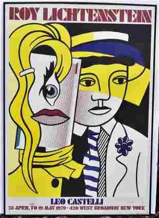 Roy Lichtenstein Exhibition Poster, 1979