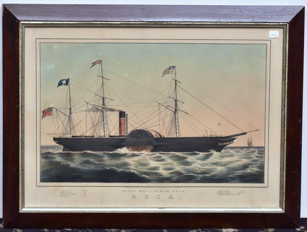Currier & Ives Lithographs (2)