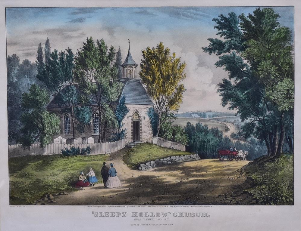 Currier & Ives Lithograph