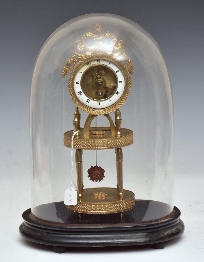 French Skeleton Clock