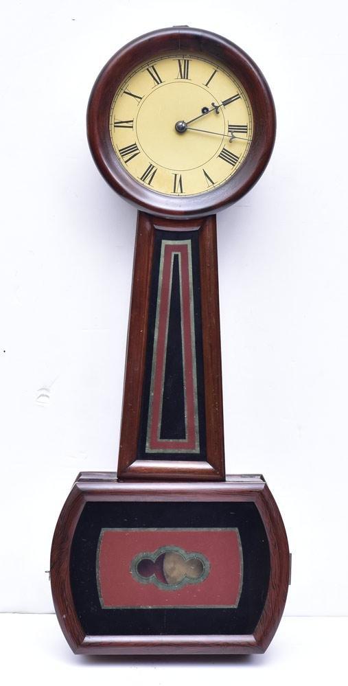 Howard Key Hole Clock