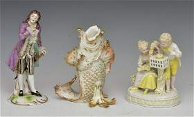 German Porcelain Figures (3)