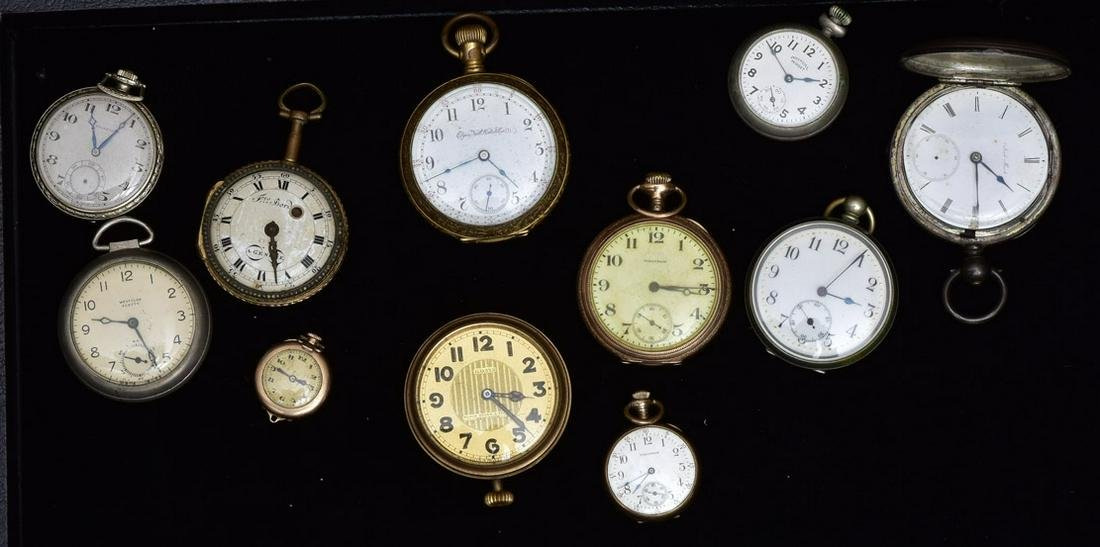 Collection of 10 Pocket Watches