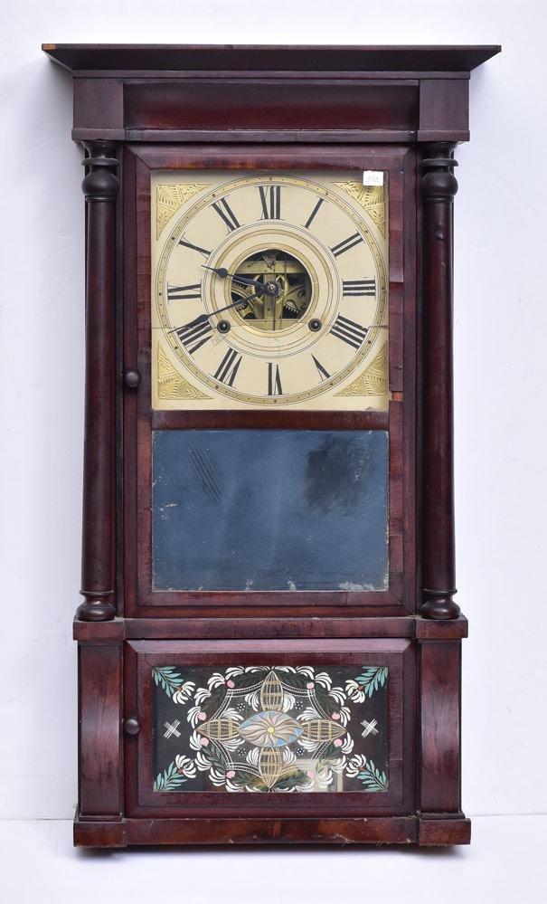 Connecticut Triple Decker Shelf Clock