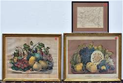 Two Currier  Ives Prints