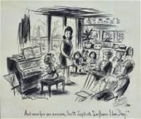 Whitney Darrow Original Cartoon