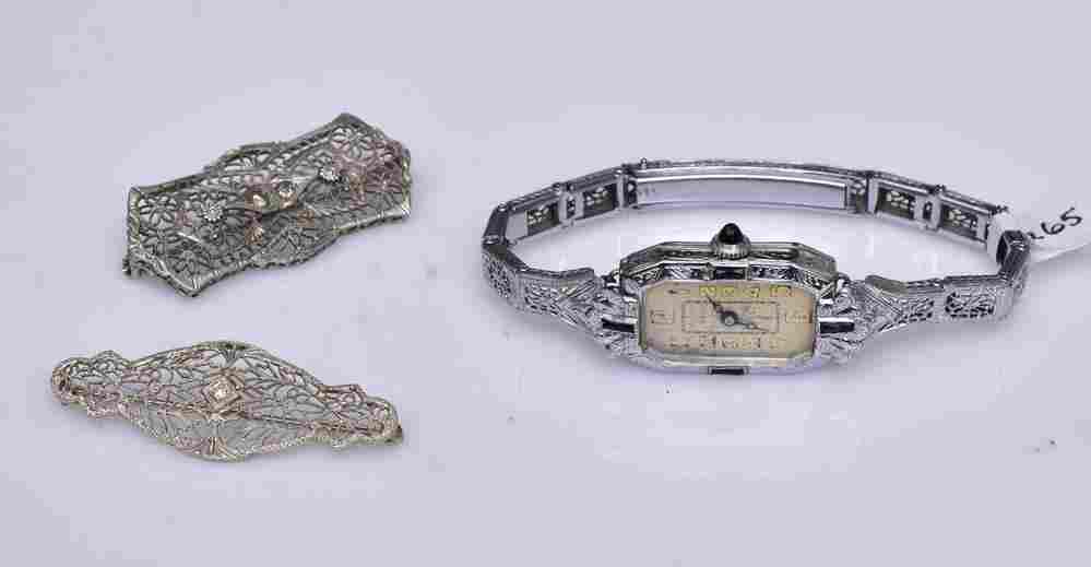 14k Gold Ladies Wrist Watch