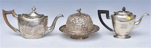 Group of Silver Hollowware