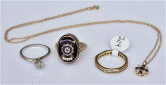 Group of 14k and 10k Gold Jewelry