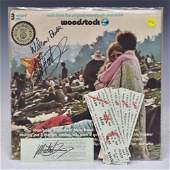 Woodstock Music Festival 1969 Tickets and Album