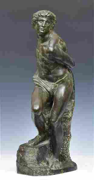 French Bronze Classical Figure