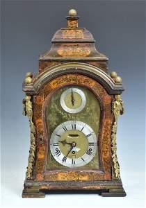 George III Musical Bracket Clock