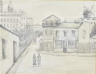 attributed to Maurice Utrillo
