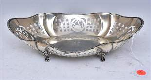 English Sterling Silver Center Bowl