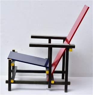 Gerrit Rietveld Red Blue Chair